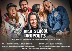 High School Dropouts Play Blink-182 Enema of the State - Tallinn @ Sveta Baar | Tallinn | Estonia