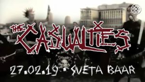 The Casualties (US) + Kurjam • 27.02 • Sveta Baar @ Sveta Baar | Tallinn | Estonia