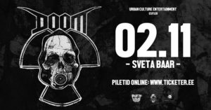 Doom [UK] / Ognemöt + support // Sveta Baar @ Sveta Baar | Tallinn | Estonia