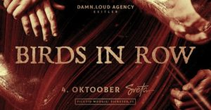 Birds In Row (FR) + support • 04.10 • Sveta @ Sveta Baar | Tallinn | Estonia